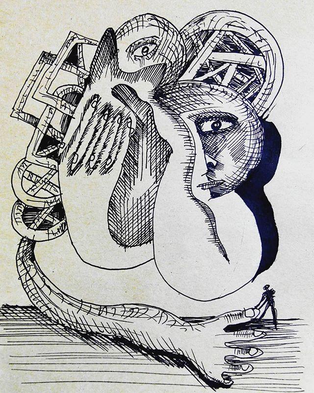Dibujo de cuaderno. 🎨📝 18x12cm. . .