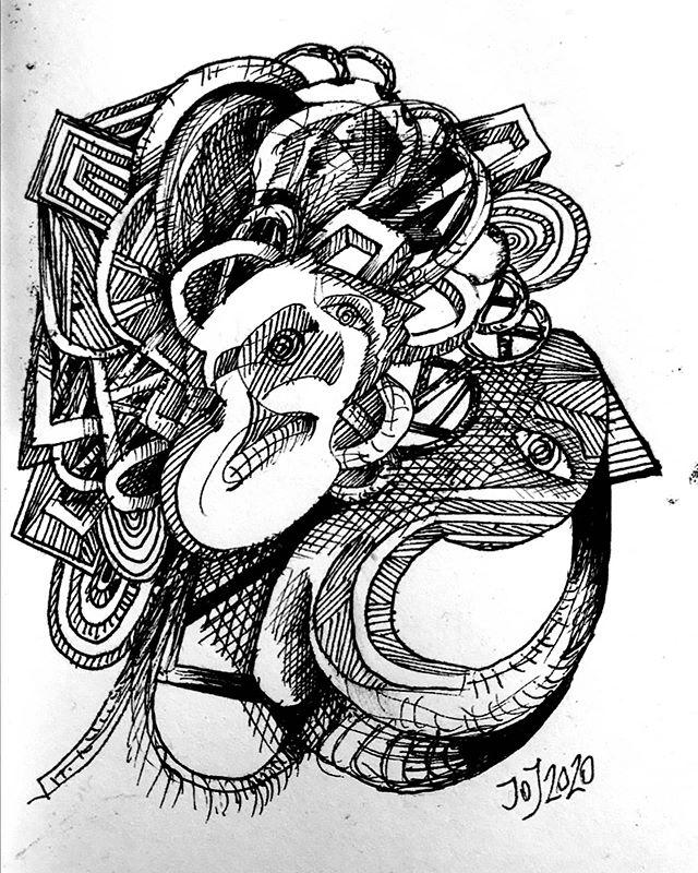 Dibujo de cuaderno.🎨📝 17x11cm. . . . .