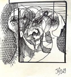 Dibujo de cuaderno.🎨📝 11x11cm. . . . .