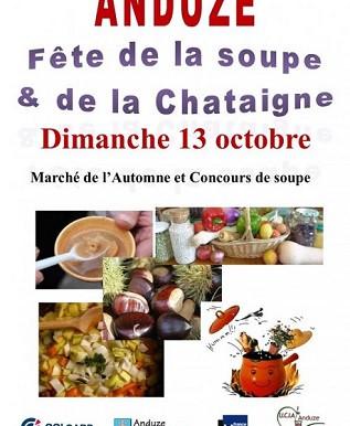 FETES DE LA SOUPE ET DE LA CHATAIGNES DIMANCHE 13 OCTOBRE 2019