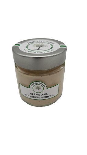 Crème d'ail à la truffe noire 1%