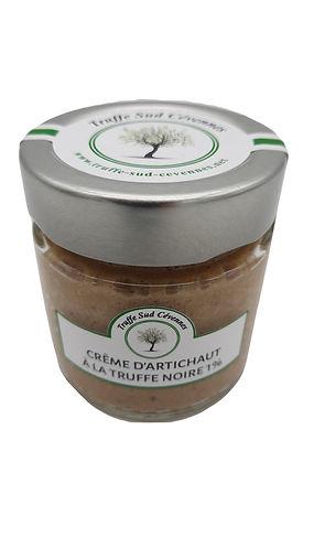 Crème d'artichaut à la truffe noire