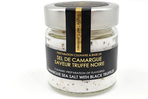 sel de camargue saveur vue de face