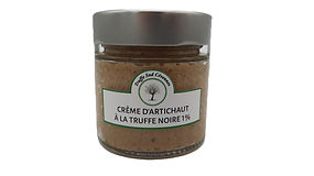 Crème d'artichaut à la truffe