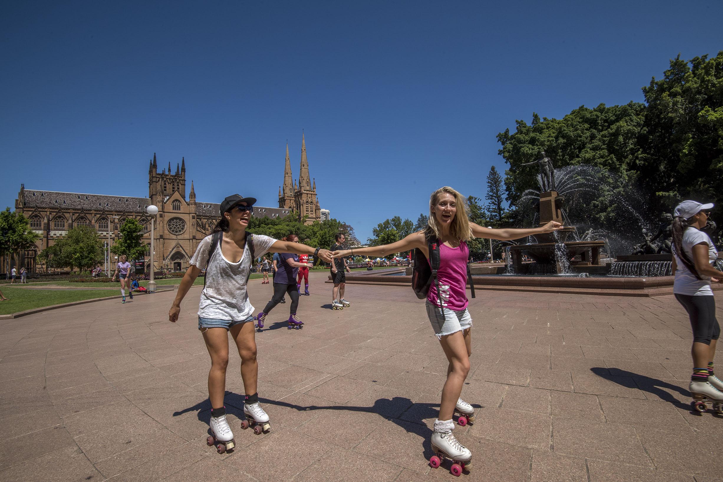 Roller skate shoes penang - Sydney Skates Into Summer