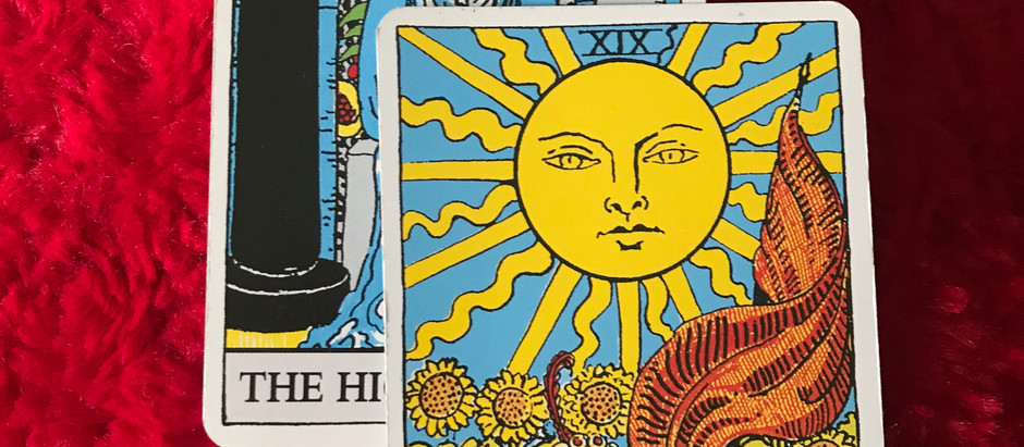 High Priestess/sun