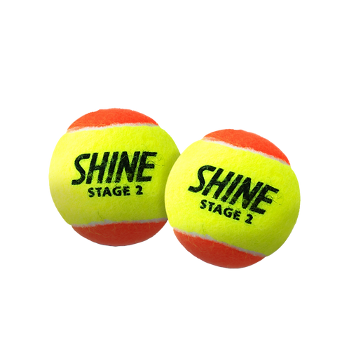 Shine Orange 12PK Tennis Balls
