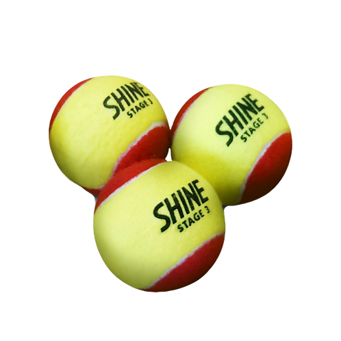 Shine Red 12PK Tennis Balls