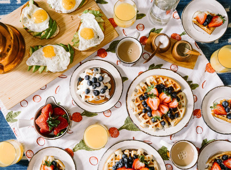 5 easy & healthy breakfast recipes to try while staying home