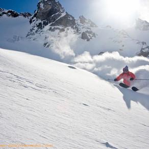 Dropping! How to ski big mountain.