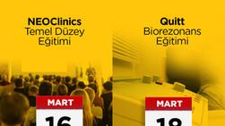 NEOClinics Temel Düzey Eğitimi ve QUiTT Biorezonans Terapileri Eğitimi 16-18 Mart