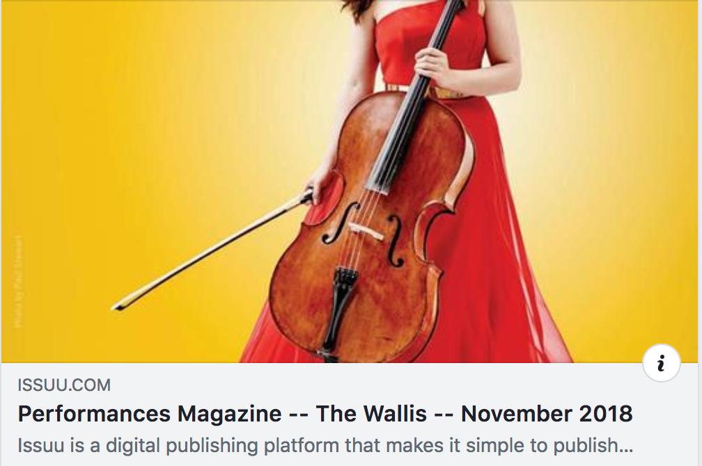 Performances Magazine