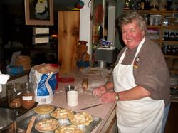 Ginger Our Baker!!