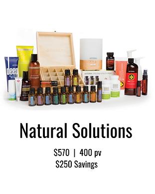 doTERRA Natual Solutions Kit