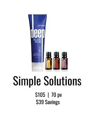 Simple Solutions Kit