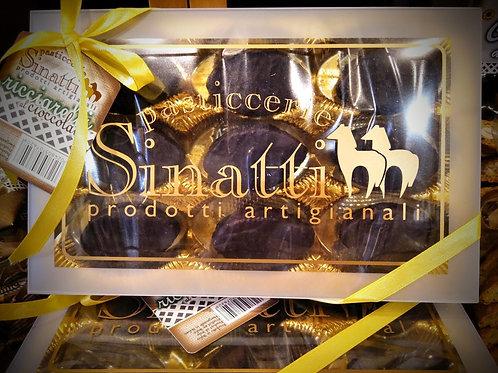 Ricciarelli al cioccolato 180 gr - Pasticceria Sinatti