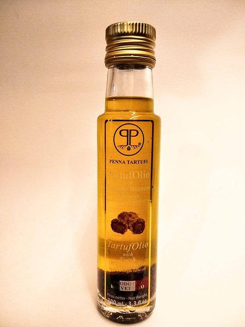 Olio extravergine di oliva con tartufo bainco fresco 100 ml - Penna Tartufi