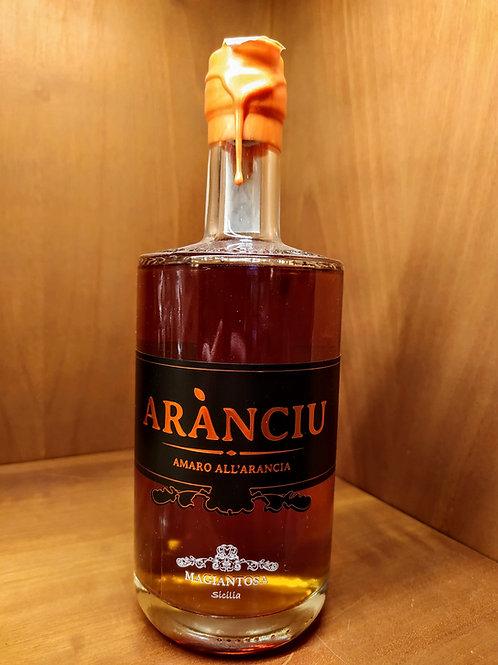 Liquore all'arancia - Aranciù - Magiantosa