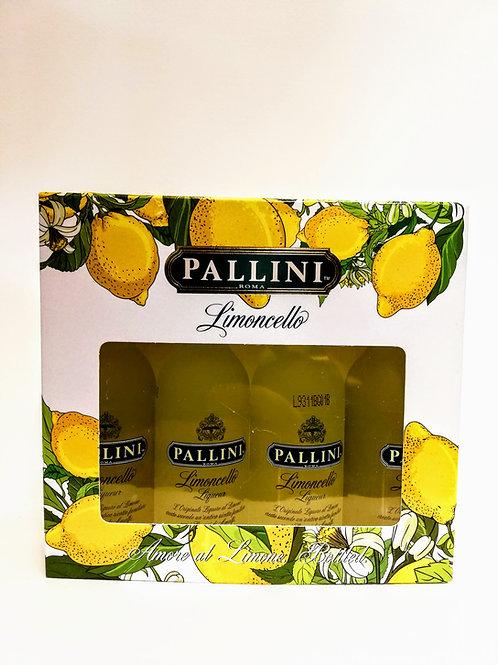 Limoncello Minipack - Pallini 4 x 50 ml