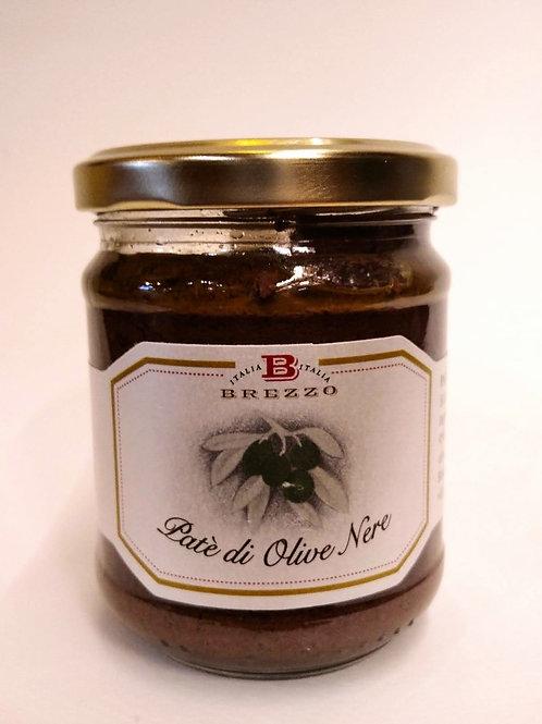 Patè di olive nere gr 180 - BREZZO