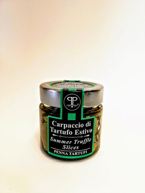 Carpaccio di Tartufo Estivo 90 g - Penna Tartufi