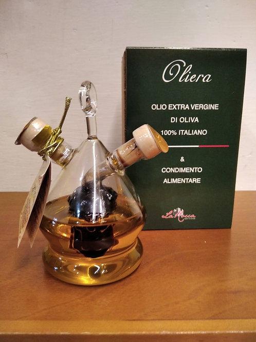 Ampolla piccola a grappolo con olio e aceto- La Rocca