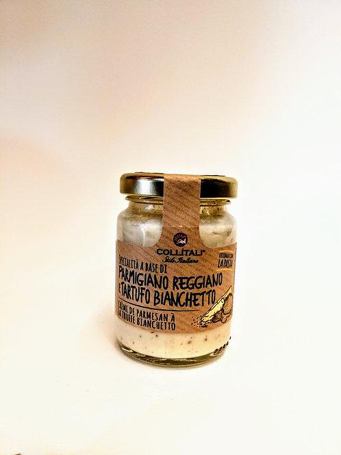 Crema di Parmigiano Reggiano DOP e Tartufo Bianchetto 80 g - Collitali