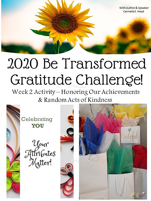 Acheivements and Random Acts of Kindness