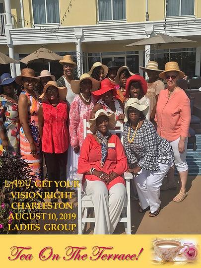 Tea On The Terrace August Ladies Group 2