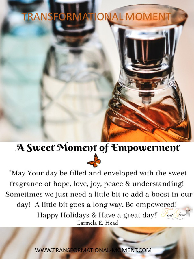 A Sweet Moment of Empowerment