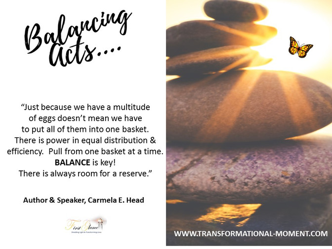 Balancing Acts!