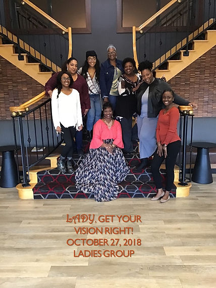Lady, Get Your Vision Right Ladies Group
