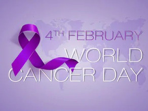 World Cancer Day - The time to act is now.
