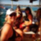 Beach babes boatin to the break! Luxury