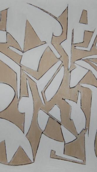 "20"" x 20"" 2007 Oils on canvas"