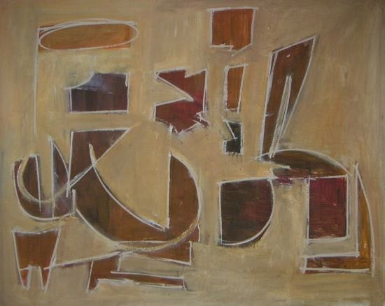 "48"" x 60"" 2006 Oils on canvas"