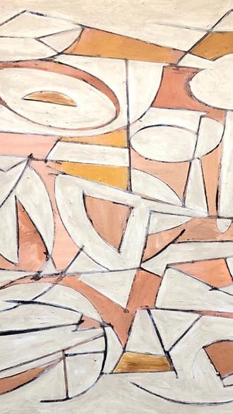 "36"" x 48"" 2003 Oils on canvas"