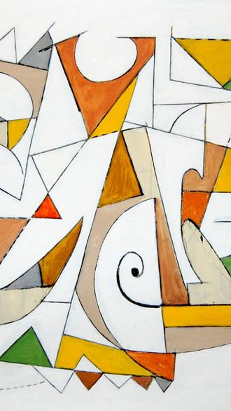"36"" x 48"" 2007 Oils on canvas"