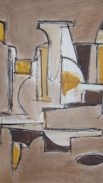 "20"" x 30"" 2001 Oils on canvas"