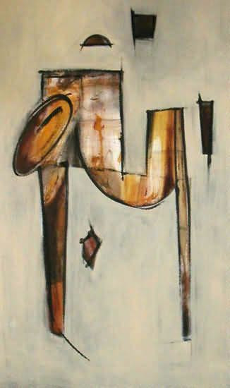 "36"" x 72"" 2004 Oils on canvas"