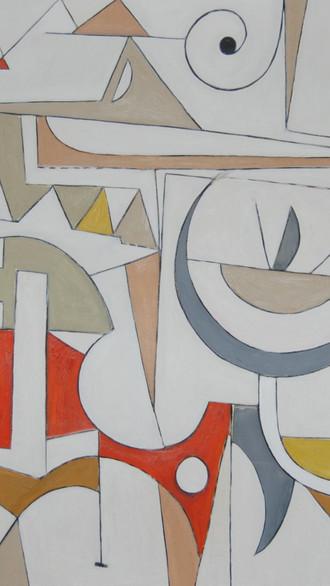 "48"" x 60"" 2011 Oils on canvas"