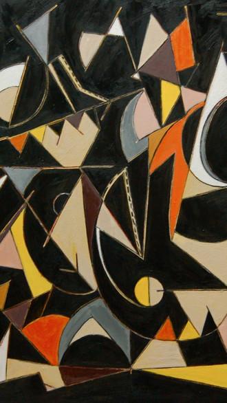 "48"" x 56"" 2006 Oils on canvas"