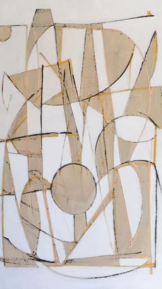 "36"" x 48"" 2008 Oils on canvas  *Private colloection"