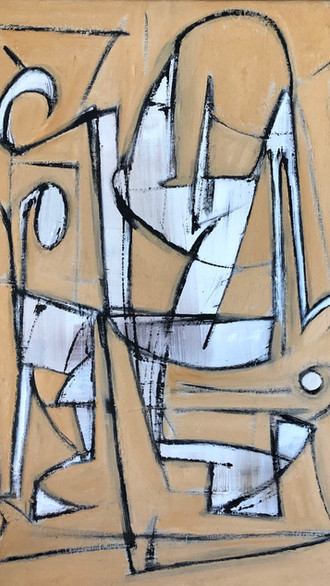 "20"" x 30"" 2000 Oils on canvas"