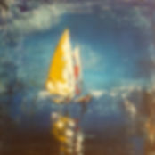 Sailing. Canvas 50x50cm. No longer avail