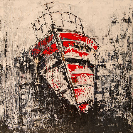Kalinka IV. Canvas 80x80cm. Beschikbaar, prijs op aanvraag
