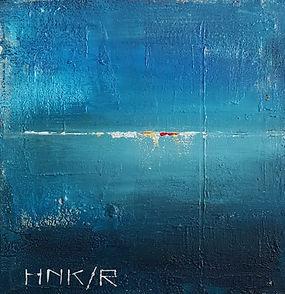 Horizon. Canvas 50x50cm.