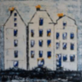 Amsterdam. Canvas 90x90cm. Acryllic. No