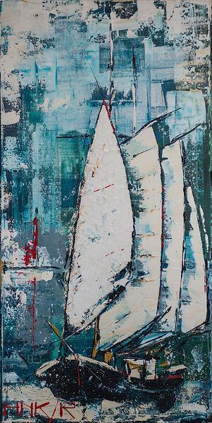 Schoener.  Canvas 50x100cm. Niet meer beschikbaar.   Verhuisd naar Duitsland