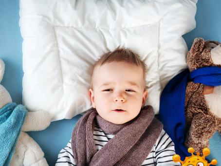 What are the first three symptoms of Coronavirus in Children?